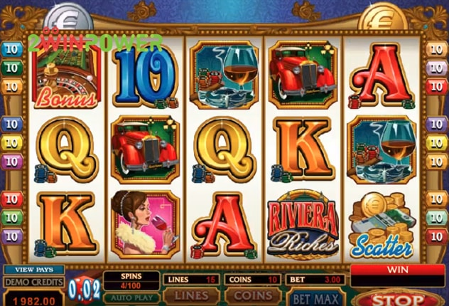 microgaming riviera riches 15073060002174 image