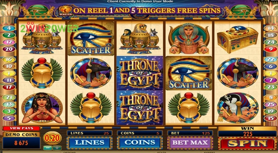 microgaming throne of egypt 15200900587902 image