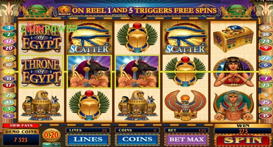 microgaming throne of egypt 15200900591434 image