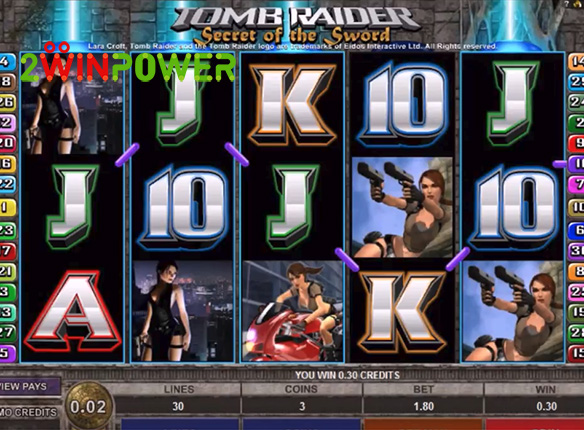 microgaming tomb raider ii 15085049746843 image