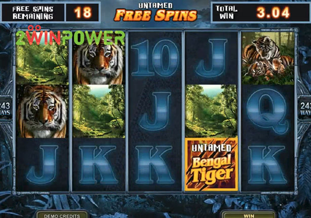 microgaming untamed bengal tiger 15081482604869 image