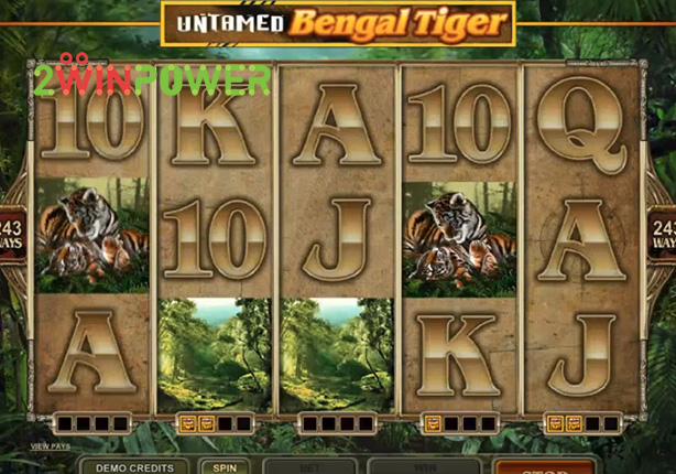 microgaming untamed bengal tiger 15081482611507 image