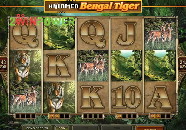 microgaming untamed bengal tiger 15081482616297 image