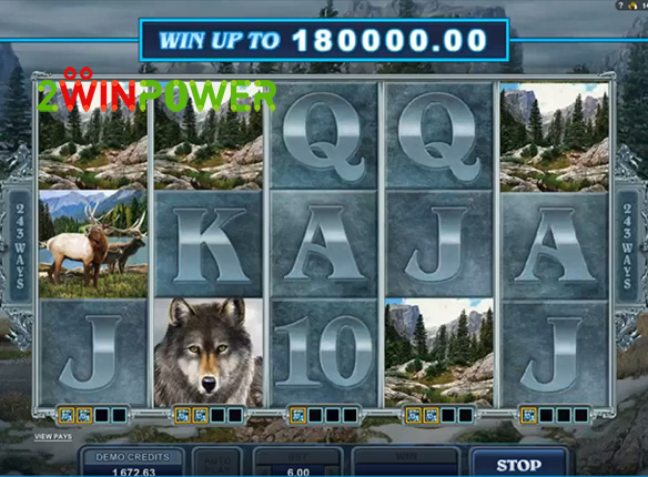 microgaming untamed wolf pack 15085060645073 image