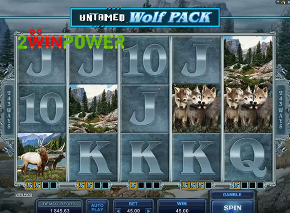 microgaming untamed wolf pack 15085060646627 image