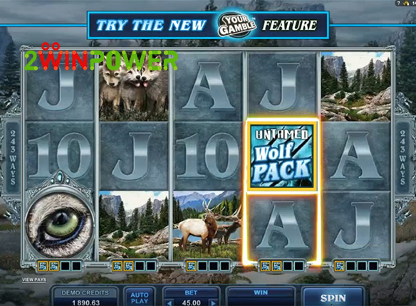 microgaming untamed wolf pack 15085060648191 image