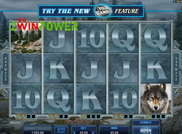 microgaming untamed wolf pack 15085060651555 image
