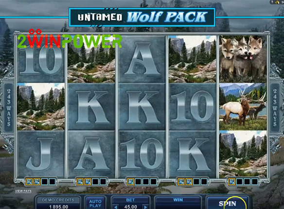 microgaming untamed wolf pack 15085060653141 image