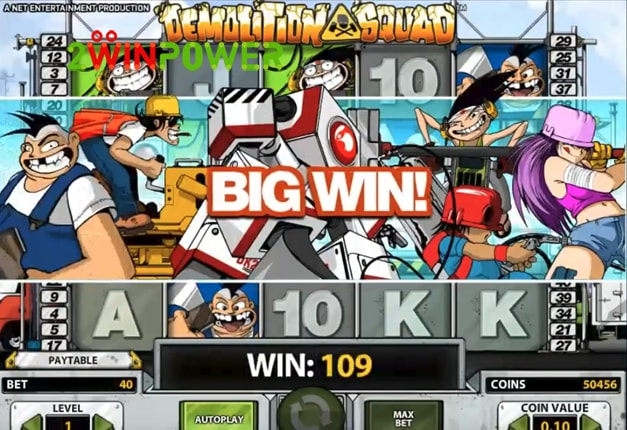 Demolition Squad appears as the group of characters responsible for tearing down old buildings.This NetEnt featured game consists of a unique style that has been heavily based on the Japanese animation.Granted that players are able to combine the same symbols, various bonuses are going to appear.Düziçi