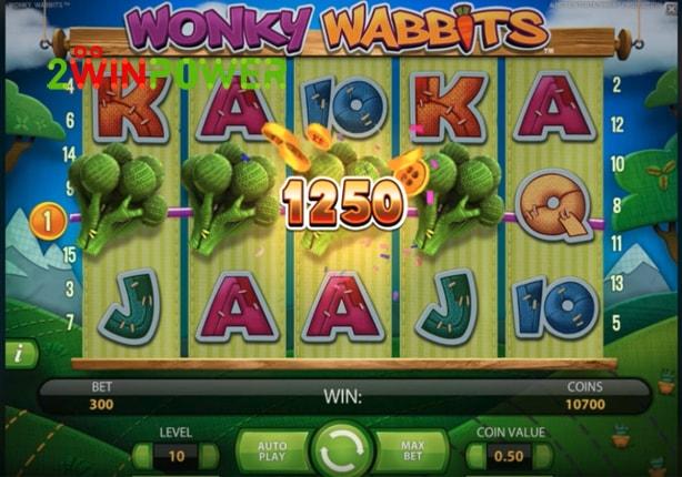 wonky wabbits ігровий автомат