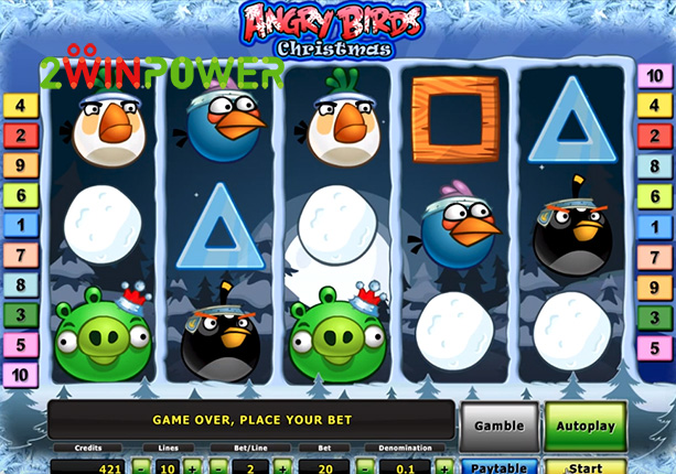 novomatic deluxe angry birds christmas 15081678737198 image