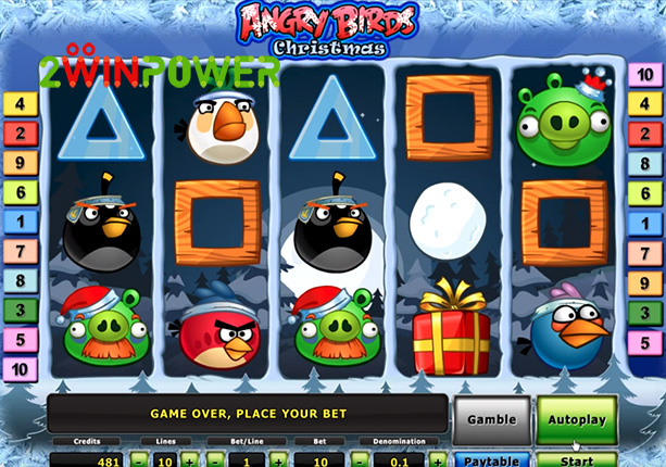 novomatic deluxe angry birds christmas 15081678744104 image