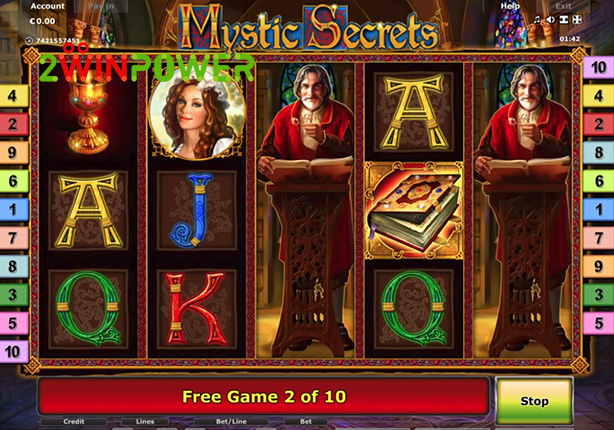 mystic secrets описание игрового автомата