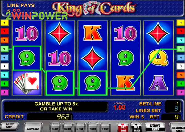 novomatic king of cards 15057280220499 image