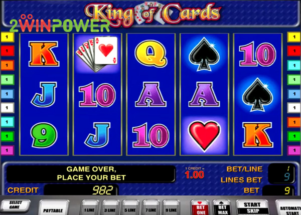 novomatic king of cards 15057280242021 image