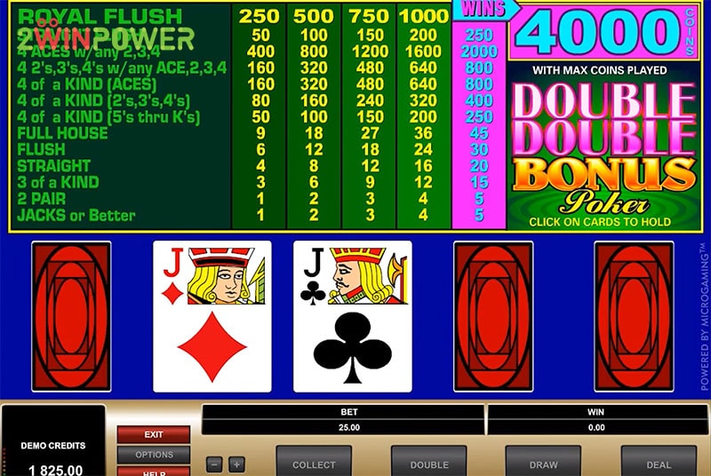 poker double double bonus poker 15461046483665 image