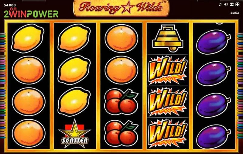 Roaring Wilds Slot Machine