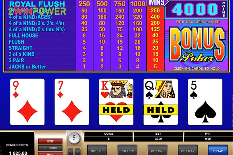 ruby bonus poker 15461630376247 image