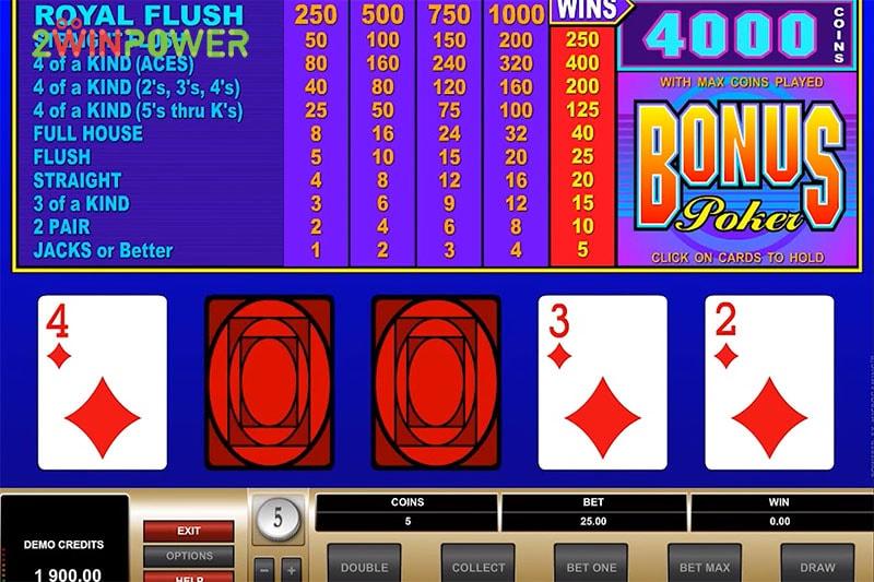 ruby bonus poker 1546163037973 image