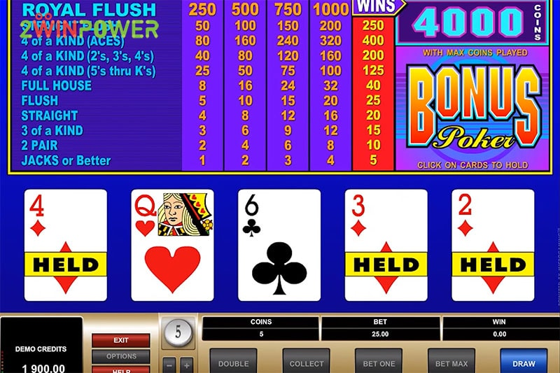 ruby bonus poker 15461630381934 image