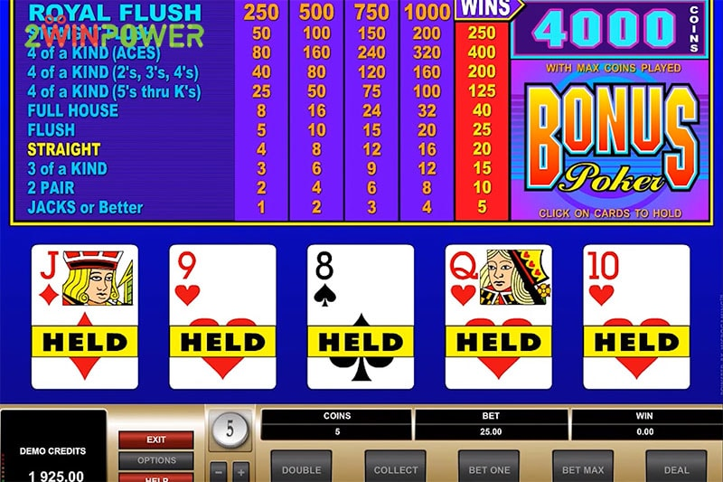 ruby bonus poker 15461630387404 image