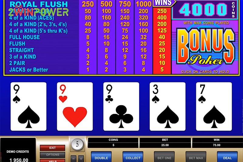 ruby bonus poker 15461630389295 image