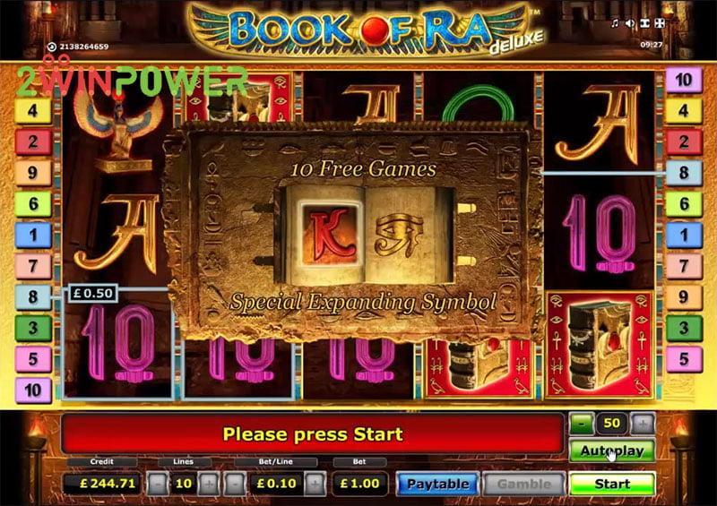 Novomatic Slots Book Of Ra