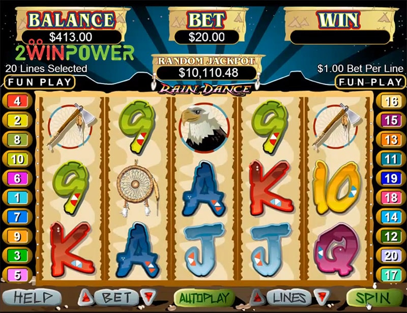 slot igra rain dance ot realtime gaming 15498685756694 image