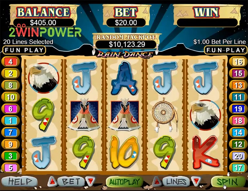slot igra rain dance ot realtime gaming 15498685789849 image