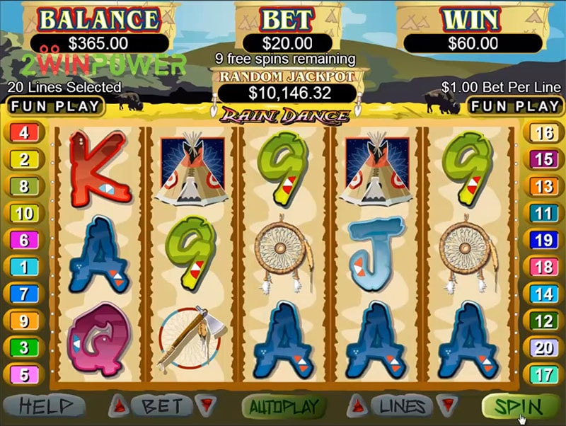 slot igra rain dance ot realtime gaming 15498685872054 image