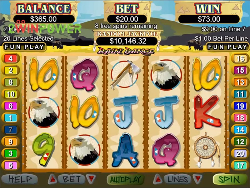slot igra rain dance ot realtime gaming 15498685887269 image