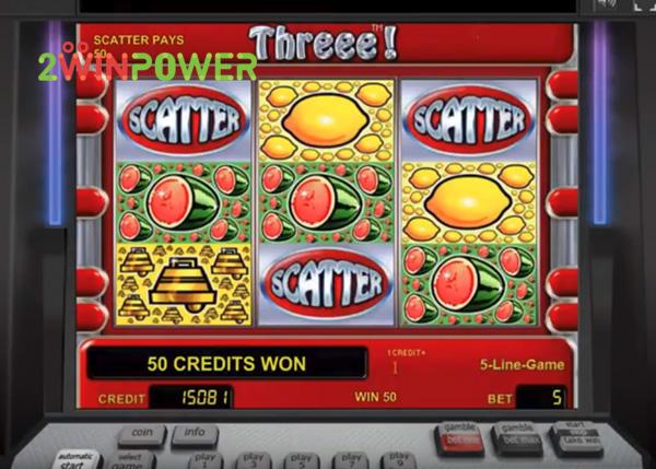 threee играть онлайн автомат