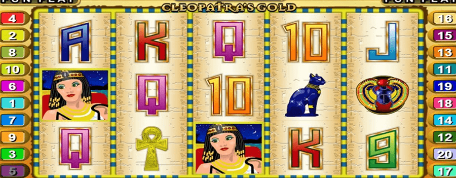 Cleopatra's Gold: RealTime Gaming games copies