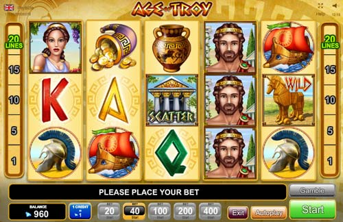 Age of Troy: EGT game copy