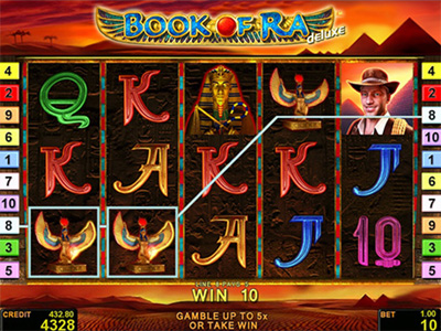 Book of Ra Deluxe slot replica
