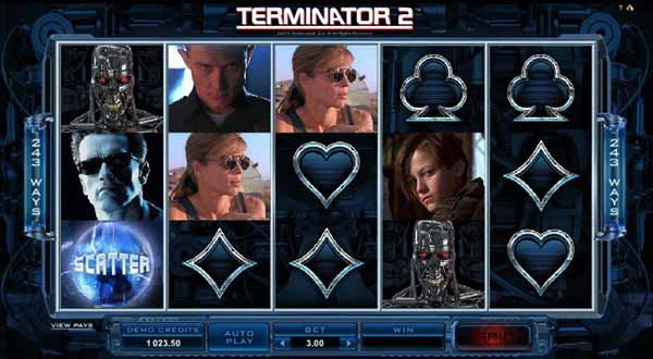 Terminator 2: Microgaming slot replica