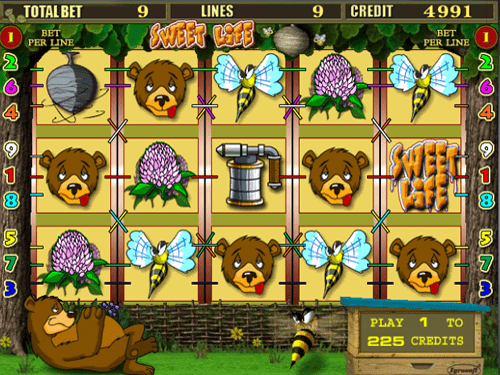 Sweet Life slot HTML5 from Igrosoft
