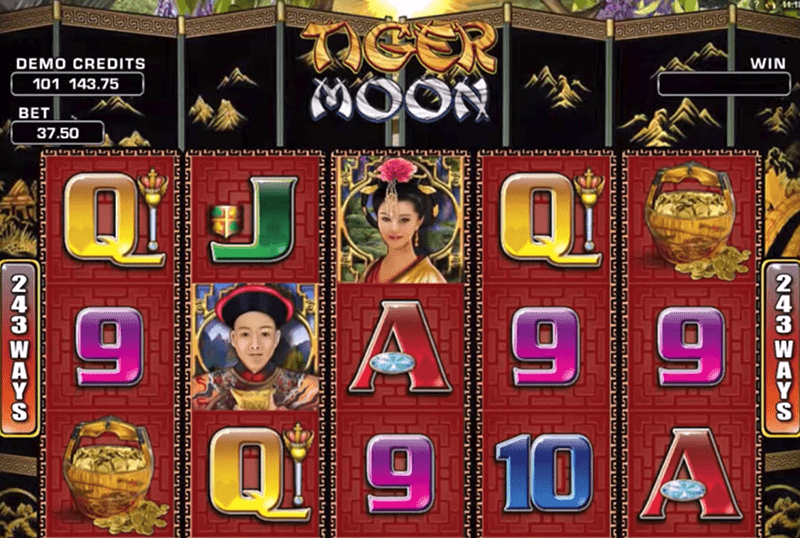 Tiger Moon gioco locale slot di Microgaming