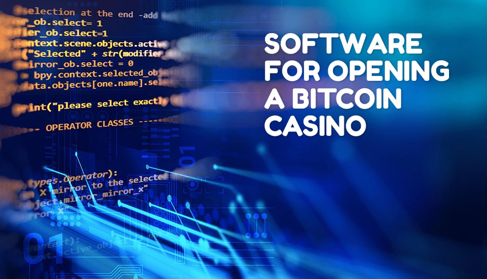 Software for opening a bitcoin casino