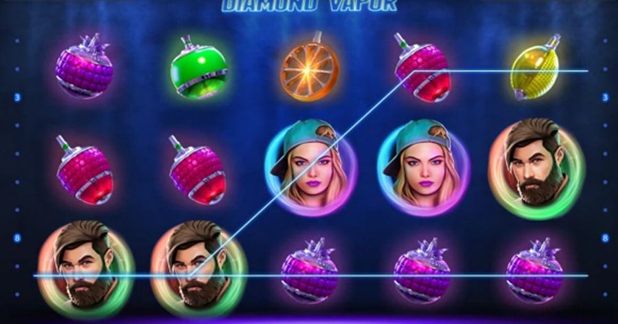 Diamond vapor endorphina slot game address tokens