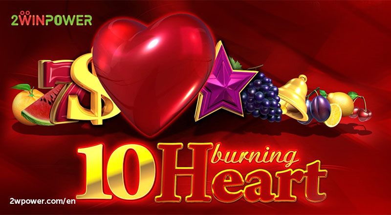 10 Burning Heart slot by EGT