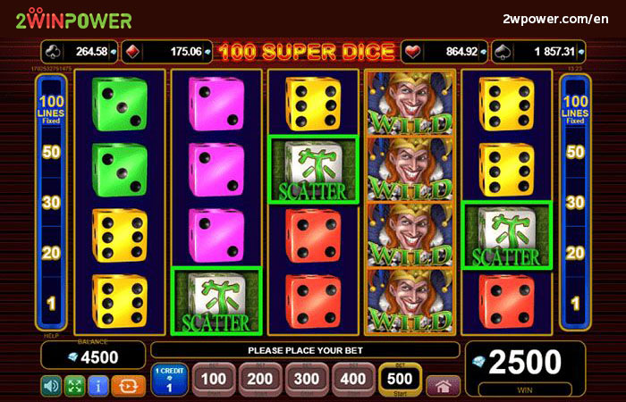 100 Super Dice slot by EGT