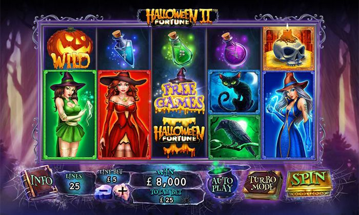 Halloween Fortune II online casino slot by Playtech