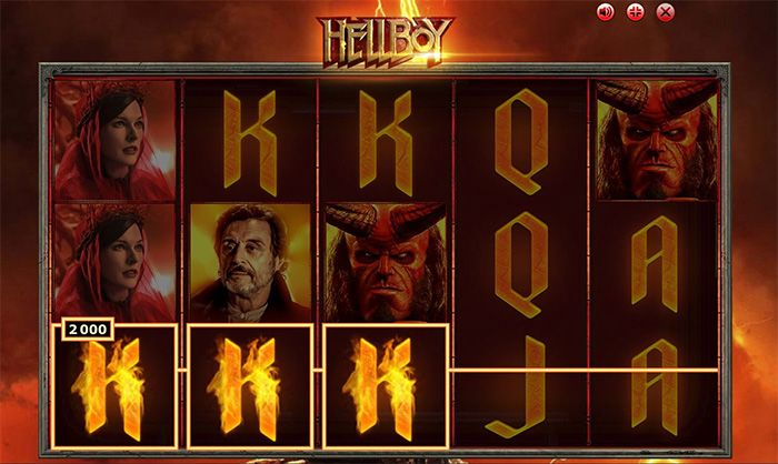 Hellboy slot by BrandGames