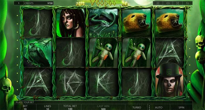 Voodoo casino game by Endorphina