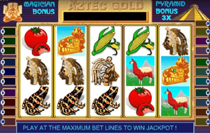 slot game Aztec Gold