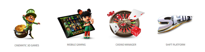 Products for the gambling business from Betsoft Gaming