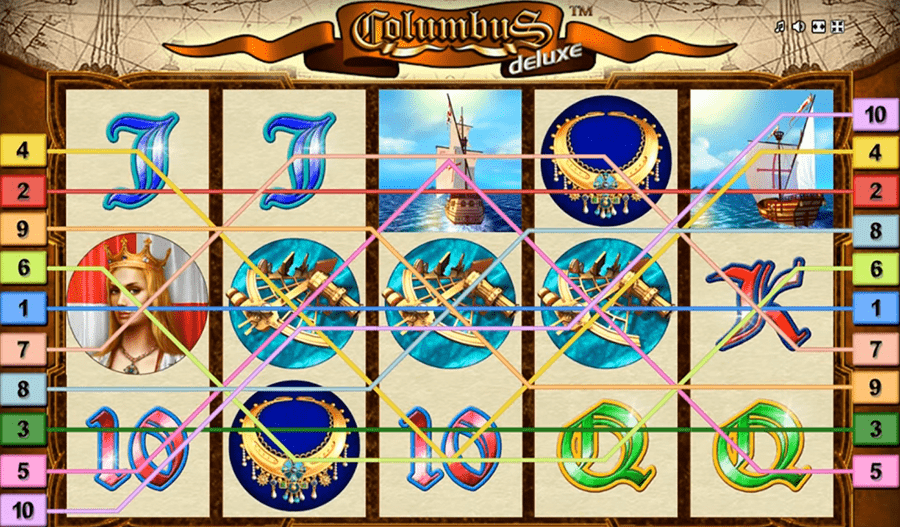 Novomatic Deluxe BTD gaming slot - Columbus Deluxe