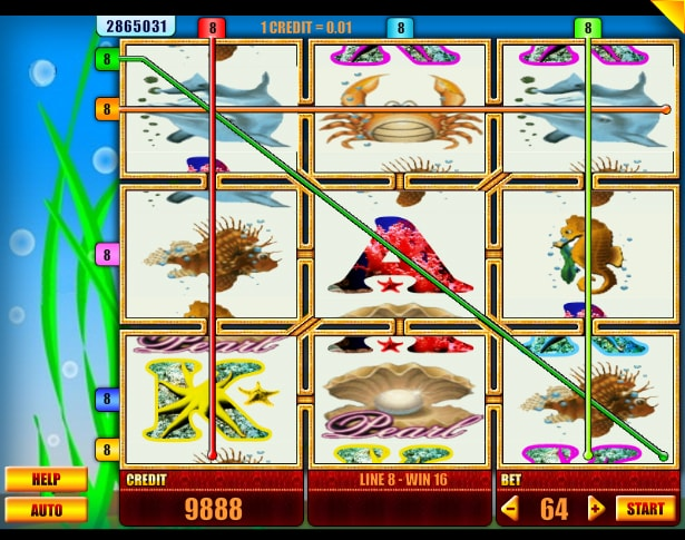 Sea World slot machine from Spin Fun