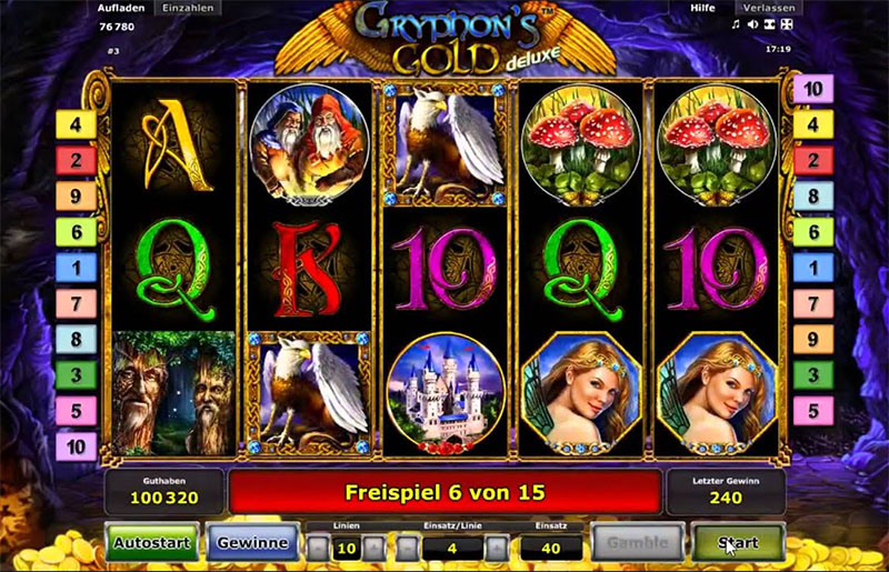 Novomatic Deluxe BTD online slot machines